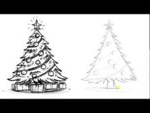 Embedded thumbnail for How to Draw a Christmas Tree