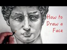 Embedded thumbnail for How to Draw a Face: Step by Step