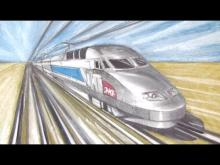 Embedded thumbnail for How to Draw a Train in One Point Perspective