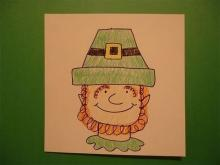 Embedded thumbnail for Let's Draw a Leprechaun!