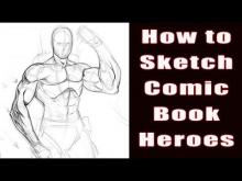 Embedded thumbnail for How To Draw - Comic book Heroes