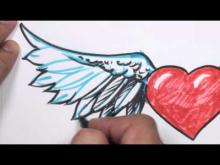 Embedded thumbnail for How to Draw a Heart with Wings