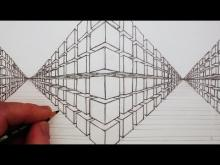 Embedded thumbnail for How to Draw a 3D Cube in Two-Point Perspective