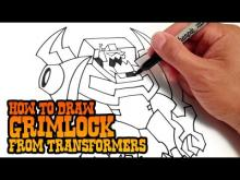 Embedded thumbnail for How to Draw Grimlock from Transformers