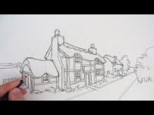 Embedded thumbnail for How to Draw a Cottage House in Two-Point Perspective