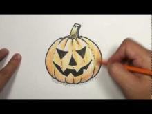 Embedded thumbnail for How to Draw a Halloween Pumpkin Face