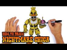 Embedded thumbnail for How to Draw Nightmare Chica