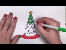Embedded thumbnail for How to Draw a Cartoon ChristmasTree