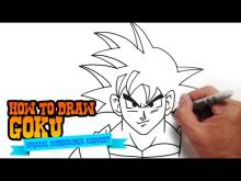 Embedded thumbnail for How to Draw Goku from Dragon Ball - Step by Step