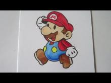 Embedded thumbnail for How to draw Paper Mario