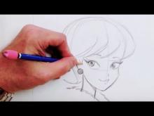 Embedded thumbnail for How To Draw a Simple Cartoon
