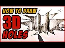 Embedded thumbnail for How to Draw A 3D Hole in Paper