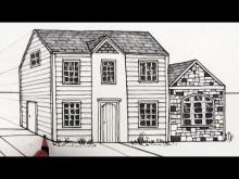 Embedded thumbnail for How to Draw a House in One-Point Perspective