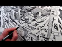 Embedded thumbnail for How to Draw a Fantasy Cityscape in 2-Point Perspective