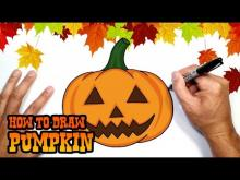 Embedded thumbnail for How to Draw Halloween Pumpkin