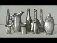 Embedded thumbnail for How to Draw a Still Life: Bottles and Jugs