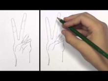 Embedded thumbnail for How to Draw a Peace Hand Sign