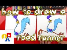 Embedded thumbnail for How To Draw A Roadrunner