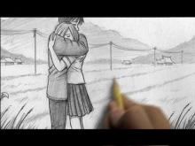 Embedded thumbnail for How to Draw People Hugging