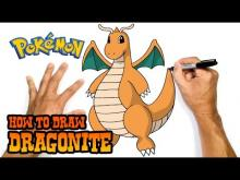 Embedded thumbnail for How to Draw Dragonite (Pokemon)