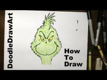 Embedded thumbnail for How to Draw the Grinch step by step