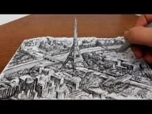 Embedded thumbnail for Drawing the Eiffel Tower
