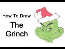 Embedded thumbnail for How to Draw The Grinch