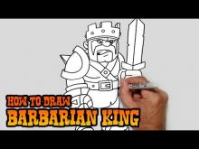 Embedded thumbnail for How to Draw Barbarian King- Clash of Clans