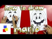 Embedded thumbnail for How To Draw Mario