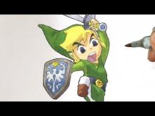 Embedded thumbnail for How to draw TOON LINK