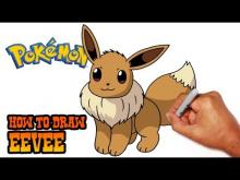 Embedded thumbnail for How to Draw Eevee (Pokemon)