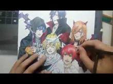 Embedded thumbnail for Speed Drawing - STARISH (Uta no Prince-Sama!) - HALLOWEEN