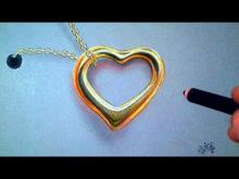 Embedded thumbnail for How to Draw realistic Golden Heart