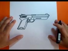 Embedded thumbnail for How to draw a gun