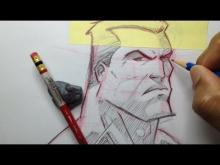 Embedded thumbnail for How To Draw A Superhero Head