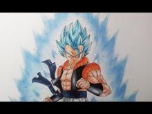 Embedded thumbnail for Drawing Gogeta Super Saiyan Blue