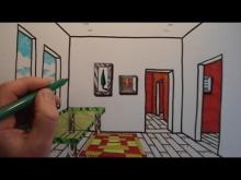 Embedded thumbnail for How To Draw A Room with One Point Perspective