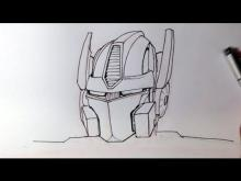 Embedded thumbnail for How to Draw Optimus Prime from Transformers