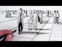 Embedded thumbnail for How to Draw People in Perspective