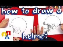 Embedded thumbnail for How To Draw A Football Helmet