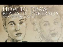 Embedded thumbnail for How To Draw Realistic Portraits From Photographs