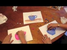 Embedded thumbnail for How to draw a Mug of Hot Chocolate with a Chalk Pastel