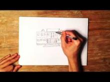 Embedded thumbnail for How to Draw a School